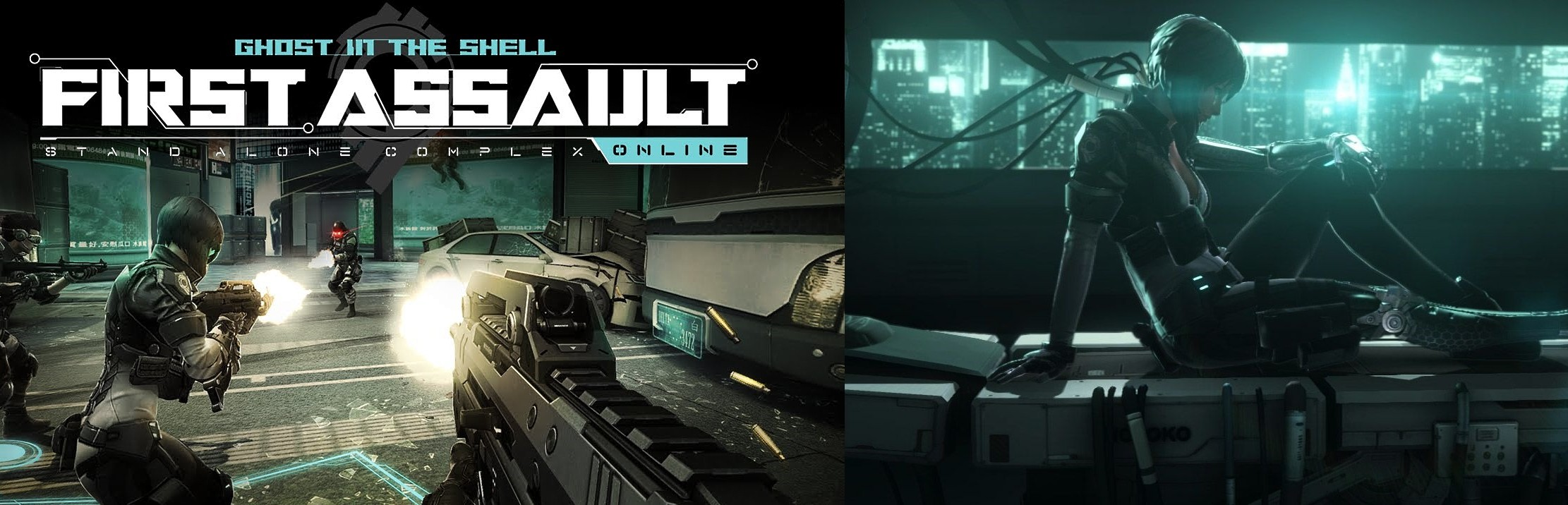 ghost-in-the-shell-first-assault-online-pc-steam-cyberpunk-videogioco-gameplay-recensione